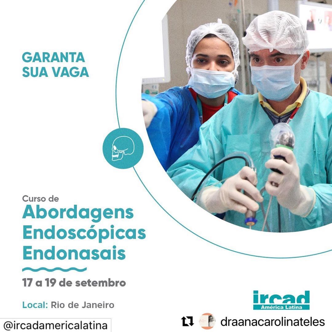 CURSO DE ABORDAGENS ENDOSCÓPICAS ENDONASAIS